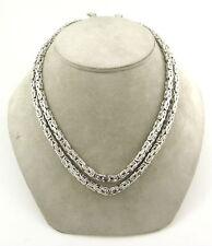 Halsketten aus Weißgold mit VS Reinheit Brillantschliff