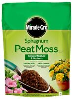 Scotts / Miracle-Gro, 8 QT, Sphagnum Peat Moss