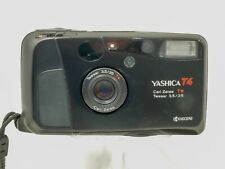 RARE YASHICA T4 35MM FILM CAMERA WITH CARL ZEISS T* TESSAR 3.5/35 LENS      #NS#