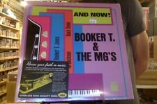 Booker T. and the MG's And Now! LP sealed vinyl reissue