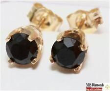 Diamond Yellow Gold 14k Fine Earrings