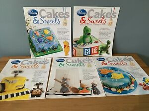 Disney Cakes & Sweets Magazines x5  Issues 76 - 80 (MAG ONLY) 76 77 78 79 80