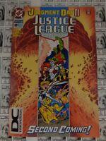 Justice League America (1987) DC - #89, DC Universe Logo UPC Variant CVR, VF-