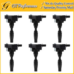 OEM Quality Ignition Coil 6PCS for LaCrosse/ ATS CT5 CT6 CTS XT5/ Canyon 3.6L V6