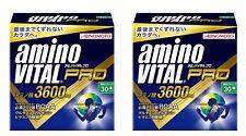 2 boxes!! AJINOMOTO Amino Vital PRO 30 sticks Amino acid 3600mg Japan