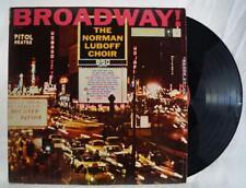 Vintage The Norman Luboff Choir Broadway!  Vinyl LP