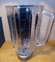 Vintage Osterizer Classic Blender Beehive Glass Pitcher Jar/Blade/Lid Only Oster