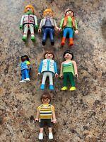 Lot Playmobil Geobra People Figures Vintage