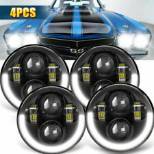 "DOT 4x 5.75 5-3/4"" 400W Hi/Lo Sealed LED Headlights for Chevy Corvette Chevelle"