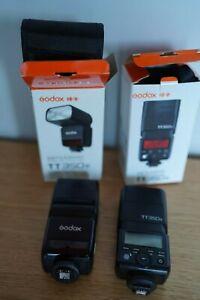 Godox TT350s Flashes (two)