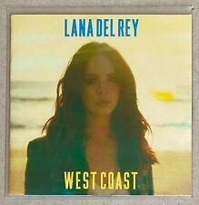 LANA DEL REY * WEST COAST * UK 3 TRK PROMO CD * HTF! * ULTRAVIOLENCE