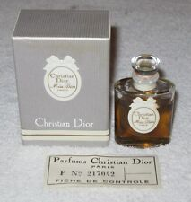 Vintage Christian Dior Miss Dior Perfume Bottle/Box - 1/2 OZ - Sealed - 3/4 Full