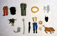 GI JOE 1989 Figurine ARAH Vintage ACCESSORY ARMES Parts LOT Action Force Figure