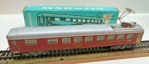 Märklin 4068 H0 Express Train Dining Car Of SBB With Pantograph Boxed