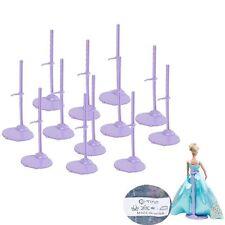12pcs Lot Barbie Doll Stand Holder Monster Model Support Pedestal Display Prop