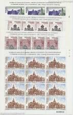 SPANIEN ESPANA - 1991 UNESCO PATRIMONIO MUNDIAL 3019-22 KLEINBOGEN **