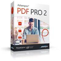 Ashampoo PDF Pro 2 - PDF editor to create, edit, convert and merge PDFs - 3 User