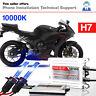 H7 10K HID Xenon Conversion Kit Bulbs For Honda CBR600RR CBR1000RR 2003-2016