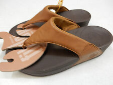 FITFLOP WOMENS SANDALS LULU TOFFEE TAN SIZE 6