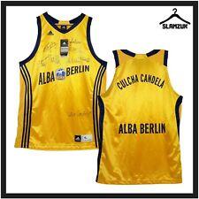 New listing ALBA Berlin Basketball Jersey Adidas XL Home Kit BBL Culcha Candela Signed