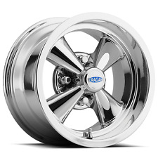 14X7 4/4 Cragar Golf Cart RIM WHEEL Chrome Aluminum series 410C S/S with CAP