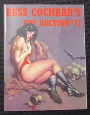 2006 Russ Cochran Comic Art Auction Catalog #77 VF- 7.5 Vampirella 52pgs