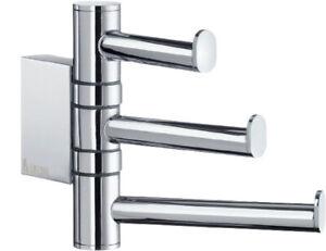 SMEDBO LIFE Design Swing Arm Dreifach Haken Bad-Accessoires Handtuchhaken 5802