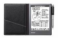 Sharp Electronic Note Black WG-S50 Digital Note pad Memo pad