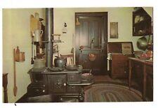 1963 ABRAHAM LINCOLN'S HOME Interior KITCHEN Springfield ILLINOIS Postcard IL