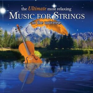 Ultimate Most Relaxing Music for Strings in / Various (CD, 2-Disc) - Free Ship