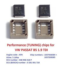 Modified chips for VW PASSAT B5 1.9 TDI AFN engine. Chip tuning / Remap !