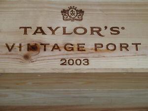 2003er Taylor's Vintage Port - Simple Immense