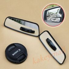 2PCS Auto Motor Accessory Clear Auxiliary Back Rear View Side Blind Spot Mirror
