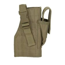 Voodoo Tactical Coyote Tan Right Hand Pistol Holster w/ Attached Magazine Pouch