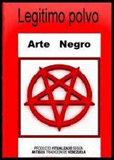 Arte Negro Polvos Esotéricos, Black Art  Sachet Powder. 10 gr.