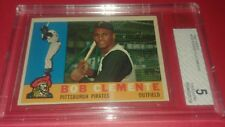 1960 Topps ROBERTO CLEMENTE #336 BGS/BVG 5 Excellent PIRATES