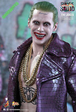 Ready Hot Toys Suicide Squad Joker Purple Coat Jared Leto Norma 1/6 Misb