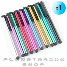 LAPIZ PUNTERO TACTIL PARA APPLE IPHONE 4 4S 5 IPAD 1 2 3 MINI PEN STYLUS COLORES