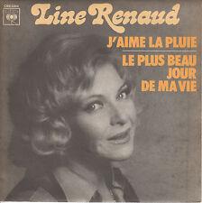 """45 T SP LINE RENAUD """"J'AIME LA PLUIE"""""""