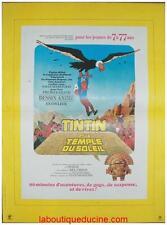 TINTIN ET LE TEMPLE DU SOLEIL Affiche Cinéma / Movie Poster HERGE 53x40