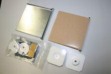 Spiegelbefestigung bis 0,8 qm /12 kg Spiegelhalterung Spiegelhalter Profi - Set