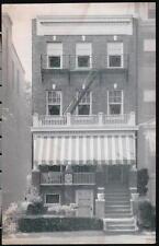WASHINGTON DC Dawson Guest House Vtg Capitol Hill Hotel Motel Postcard Town View