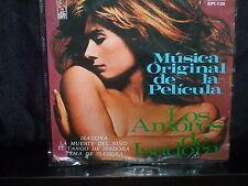 """LOS AMORES DE ISADORA MUSICA ORIGINAL DE LA PELICULLA - AUSTRA 7"""" 45 RECORD P/S"""
