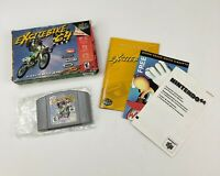 Excitebike 64 N64 (Nintendo 64, 2000) Box Manual Complete CIB N64 Personal Piece