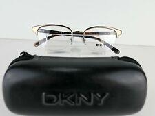 9ff1c9bbe7 NEW DKNY DY 5640 (1016) Brown   Black 51 X 17 140 mm Eyeglass