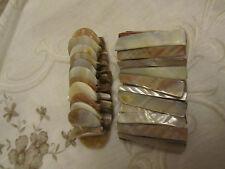 Beige & Cream Shell Elasticated Bracelet x 2
