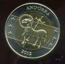 ANDORE  2 EURO  2012  ( essai )  (  SPL )