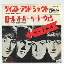 "The Beatles - Twist And Shout c/w Roll Over Beethoven OR/330 7"" JAPAN 45"