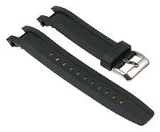 Casio Edifice Uhrenarmband Resin Band Schwarz für EQW-A1200RP EQW-A1200B 1044627