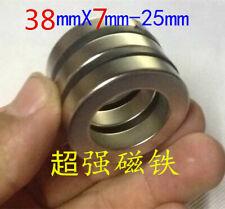 Huge Neodymium ring Magnet.The New Super Strong Rare Earth N52 diameter 38×7mm
